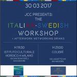 jcc junior chamber club assosvezia anna brannstrom lezione italiano svedese istituto culturale nordico a milano colibrì afterwork networking drinks