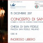 assosvezia camera commercio italo svedese concerto santa lucia coro chiesa san fedele 18 dicembre 2017 nordiska musikgymnasiet stoccolma milano