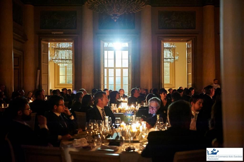 camera commercio italo svedese assosvezia santa lucia cena gala 2017 palazzo spinola milano società del giardino nordiska musikgymnasiet