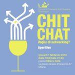 chit chat voglia di networking camera di commercio italo-svedese assosvezia 1 febbraio 2018 aperitivo milano