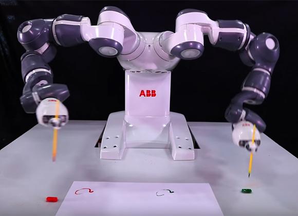 rassegna stampa svedese assosvezia abb yumi robot collaborativo flessibilità agilità elettronica di consumo