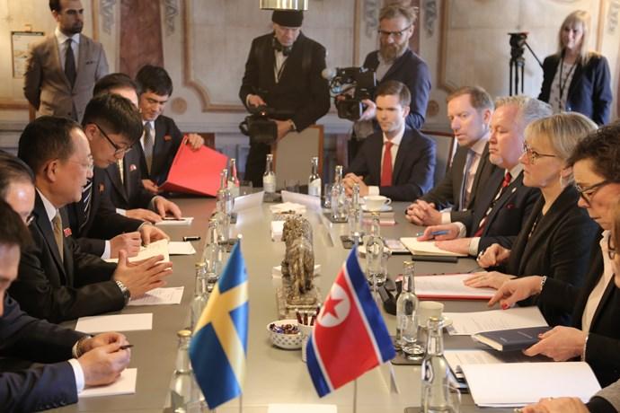 rassegna stampa svedese assosvezia mediazione diplomazia svezia corea del nord ospitare summit