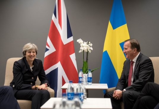 rassegna stampa svedese assosvezia speed dating premier incontro theresa may stefan lofven brexit
