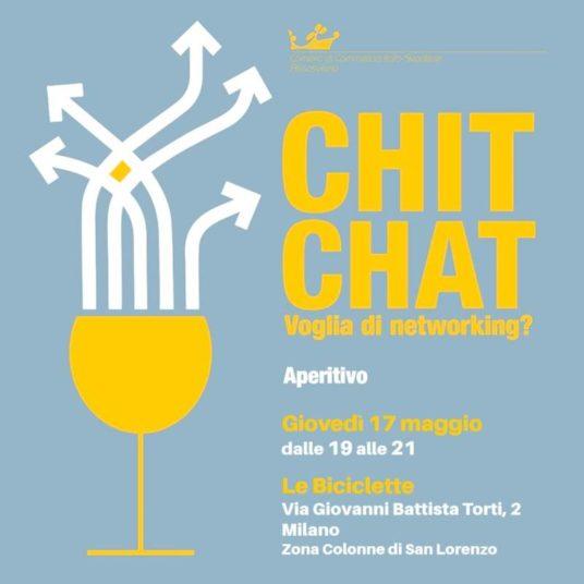 chit chat voglia di networking camera di commercio italo-svedese assosvezia 17 maggio 2018 aperitivo milano le biciclette