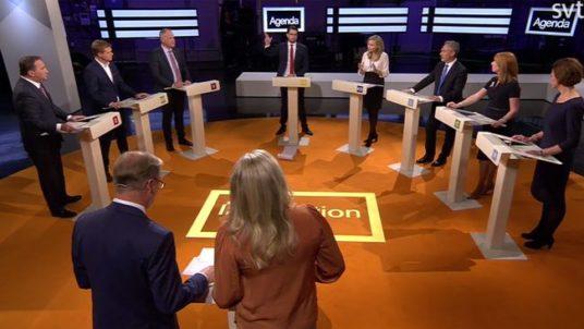rassegna stampa svedese assosvezia faccia a faccia confronto politico elezioni svezia dibattito