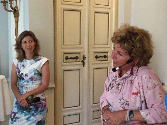 6 giugno 2018 nationaldagen festa nazionale svedese ambasciata svezia italia eventi assosvezia amelia adamo giornalista imprenditrice be more in the land of less is more