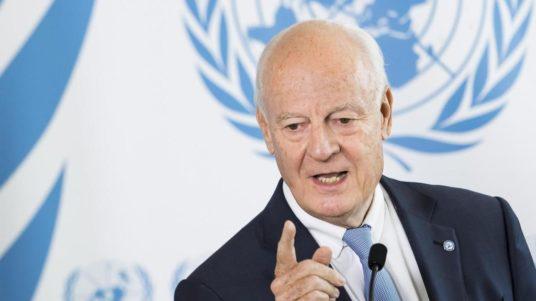 mission siria conflitto dimissioni staffan de mistura inviato nazioni unite risoluzione negoziati progressi rassegna stampa svedese
