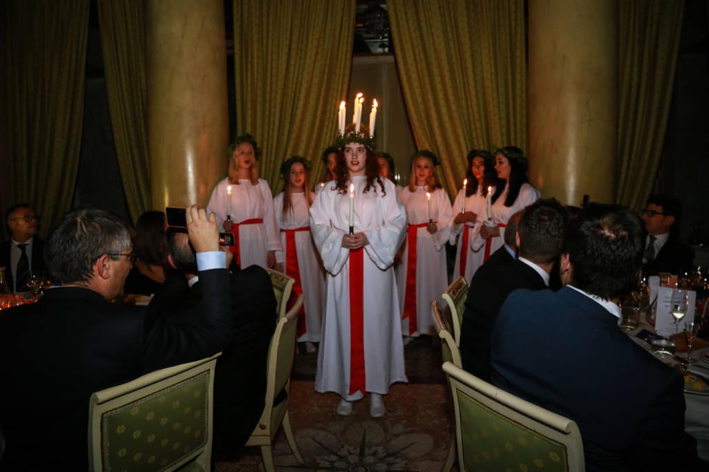 Cena di Gala di Santa Lucia 2018: torna la tradizione svedese a Milano