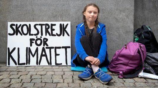Greta Thunberg friday sciopero scuola future davos climate change rassegna stampa svedese assosvezia