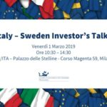 investors talks ita italian trade agency aziende svedesi seminario 1 marzo 2019