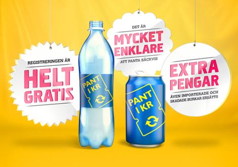 ricircolo virtuoso riciclaggio bottiglie pet record returpack rassegna stampa svedese