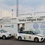 stazione rifornimento auto idrogeno produzione energia solare